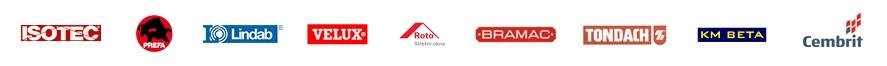Střechy Kredit - dodavatelé, partneři